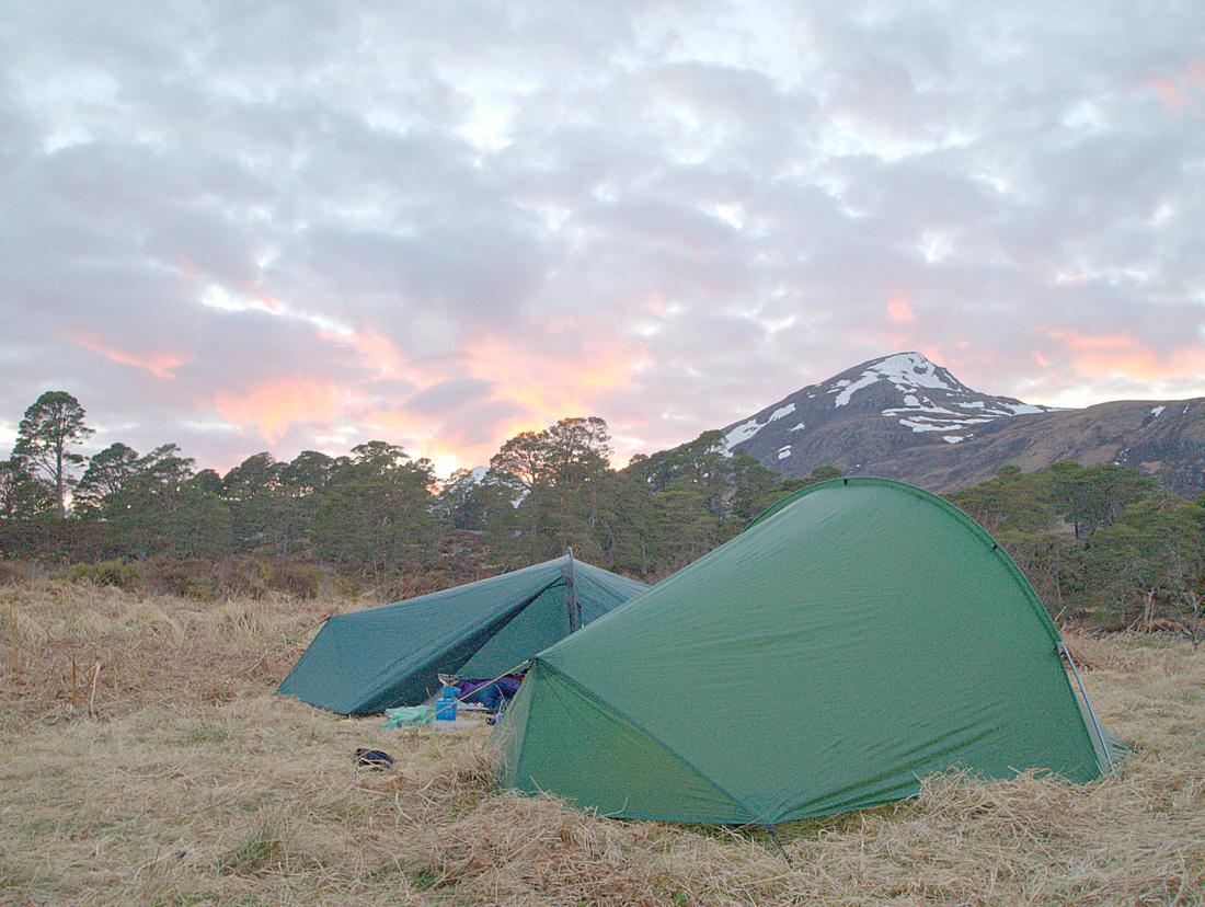 Wild Camping in Glen Affric