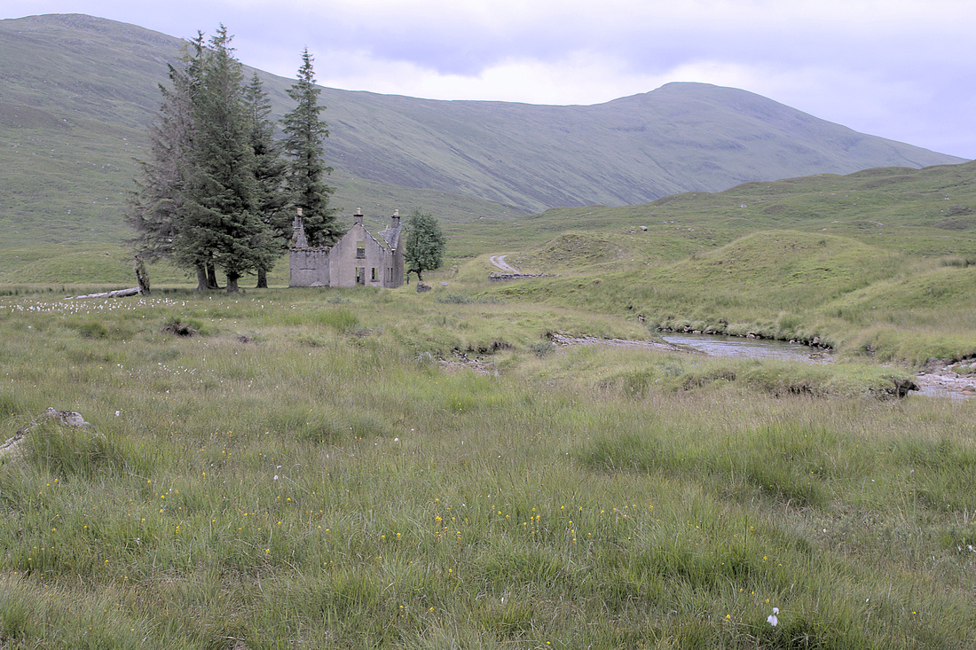 The ruin at Luibeilt