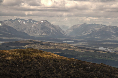 Rannoch Moor from Meall Buidhe