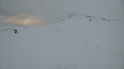 Lairig Leacach in Winter