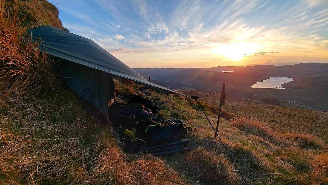 Wild Camping on Ben Shee
