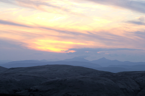 Sunset from Ben Shee