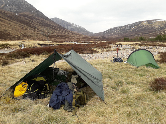 Camping in Glen Derry