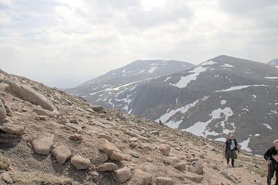 Climmbing Bheinn Mheadhoin
