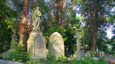 Highgate Cemetary in London
