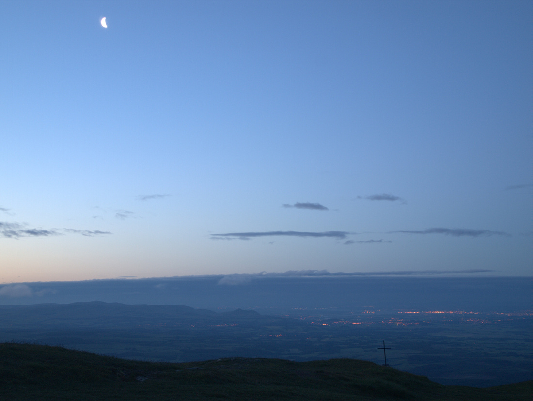 Dawn on Ben Ledi