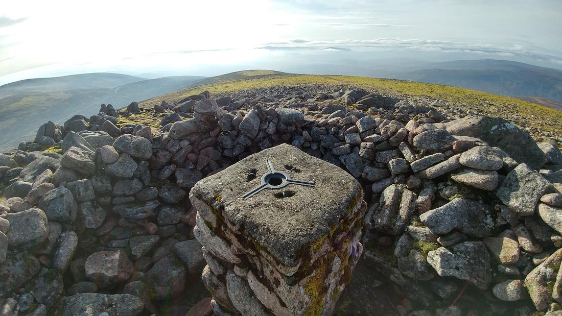 Summit of Beinn Dearg