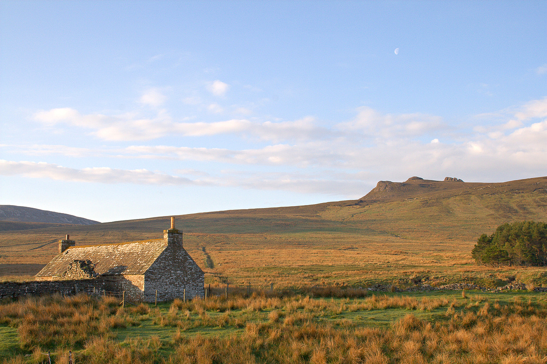 Corrichoich and the summit Tors of Smean