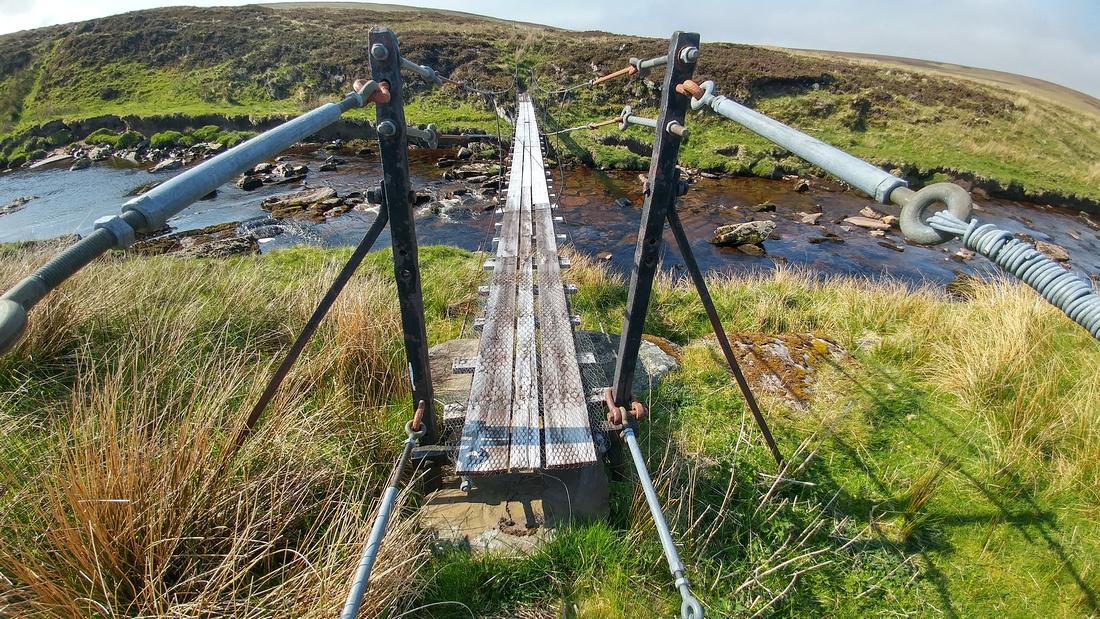 The Suspension Bridge at Corricoich