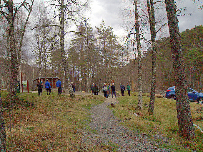 Affric Kintail Way opening party