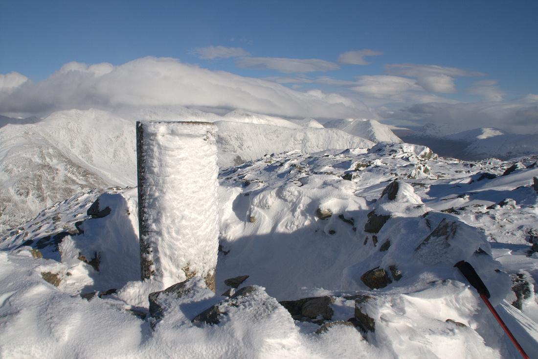 The summit ofBeinn Fhionnlaidh