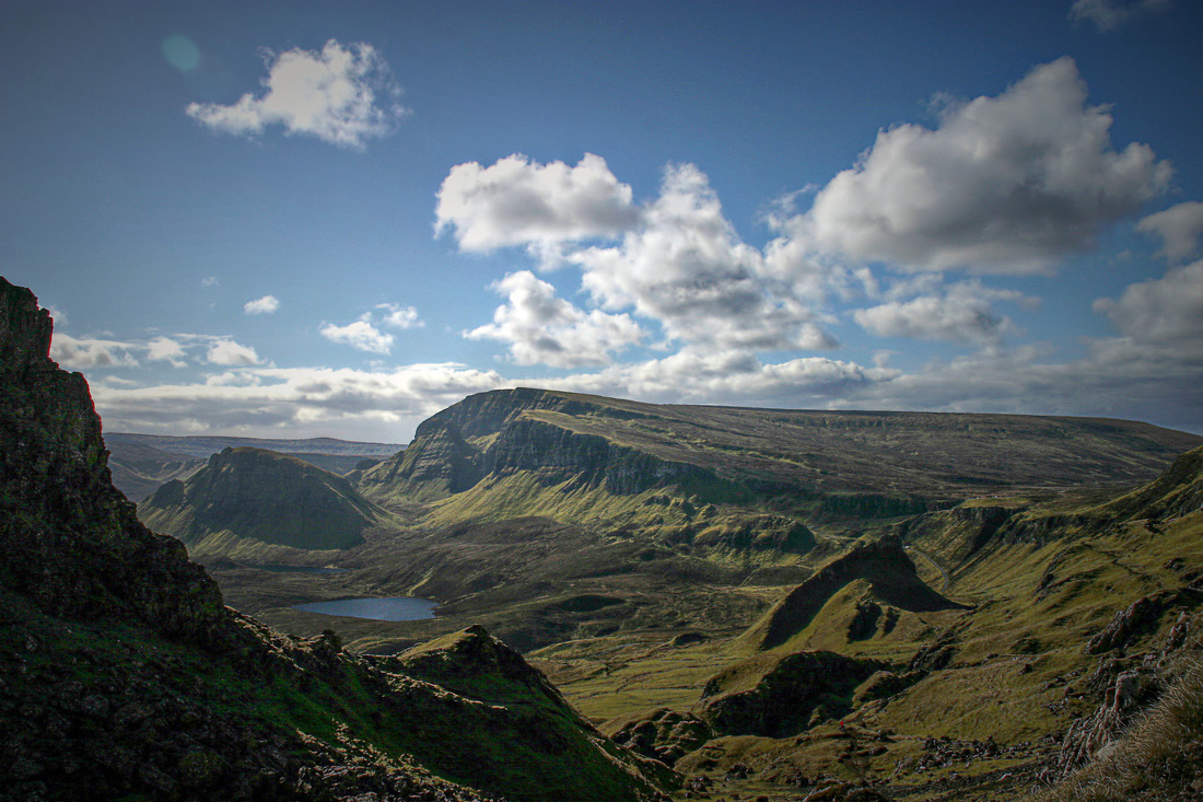 Trotternish Ridge from the Quiraing