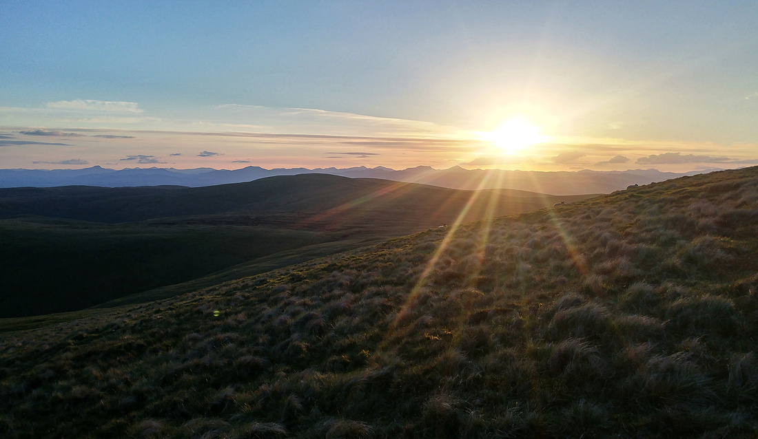 Evening on Ben Cleuch