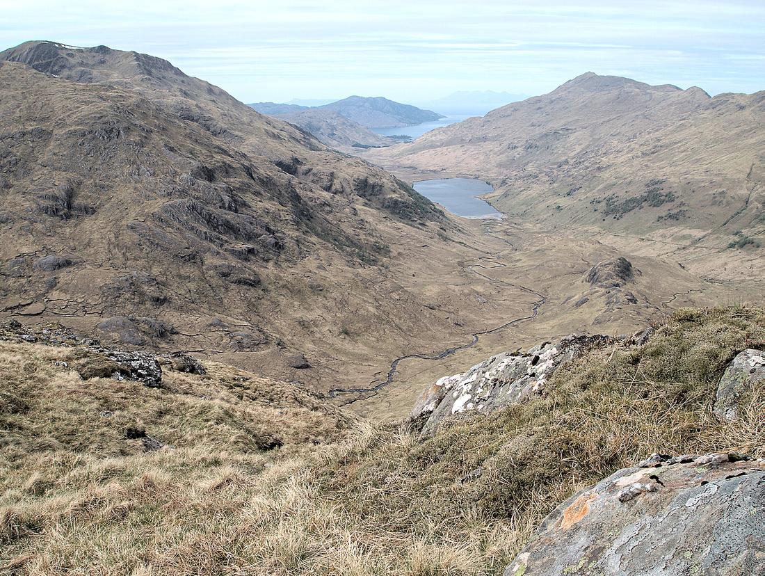 Looking West from Luinne Bheinn