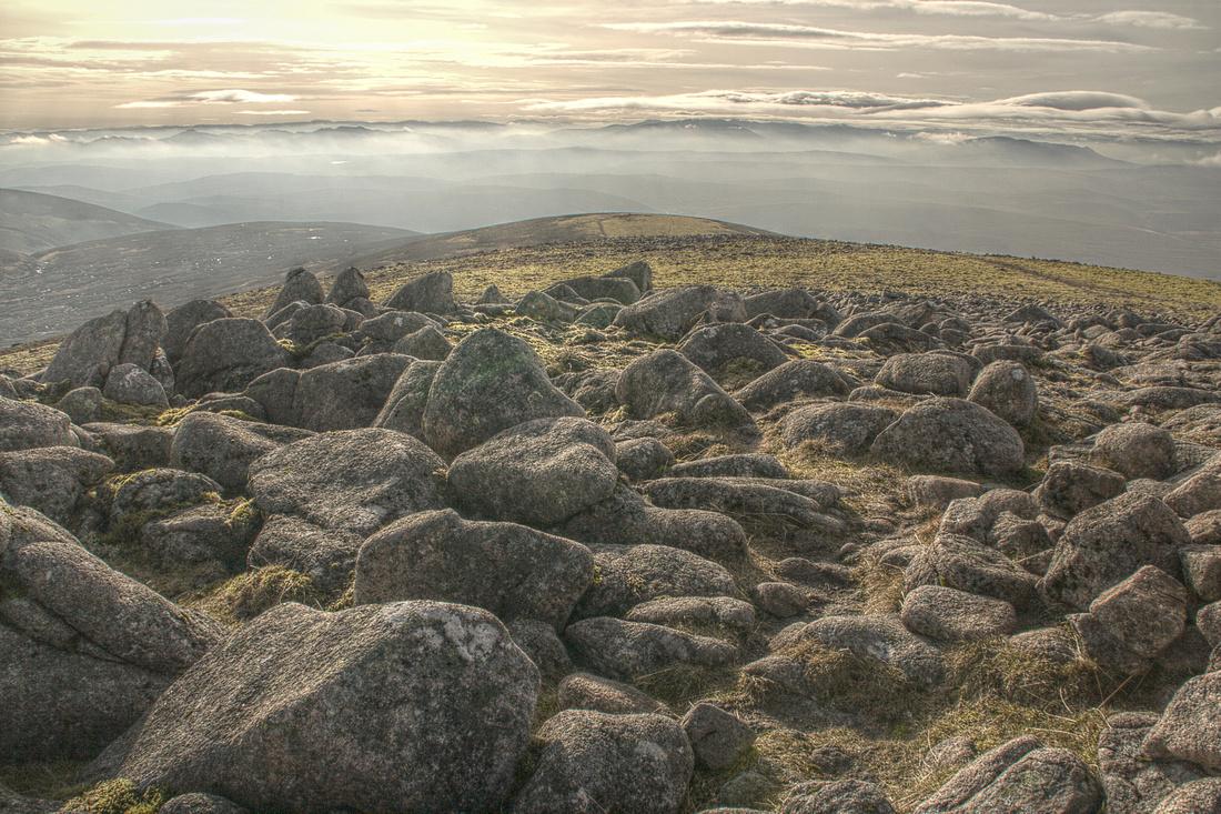 Top of Beinn Dearg
