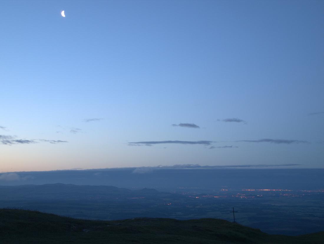 Dawn on Ben Ledi