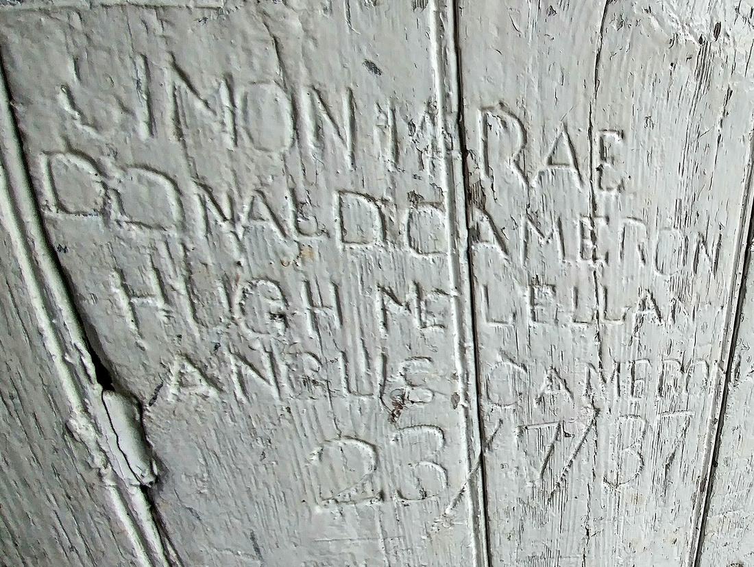 Graffiti from 1937