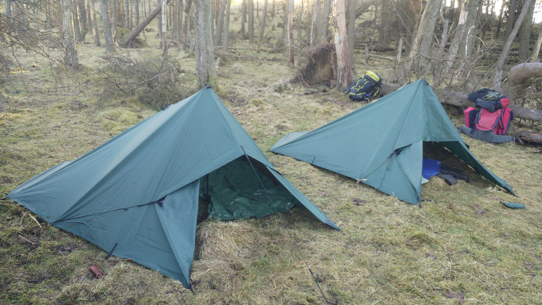 Pitched Tarpaulins